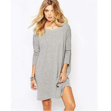 Hot Sale Winter Sexy Backless Long Sleeve One Piece Dress [6338691524]