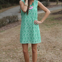 Green Thumb Dress, Green