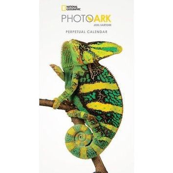 National Geographic Photo Ark Perpetual 2018 Wall Calendar