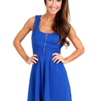 Stay True Electric Blue Dress | Monday Dress Boutique