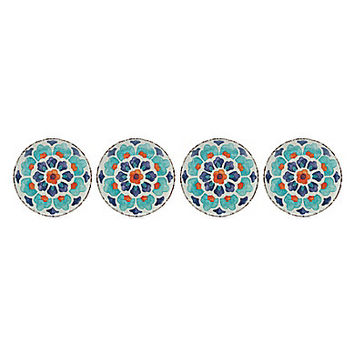 Noble Excellence Floral Pattern Dinner Plates, Set of 4 | Dillards.com