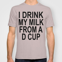 D-Cup T-shirt by Raunchy Ass Tees