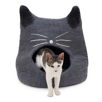 Meow Cat Cave | cat playhouse