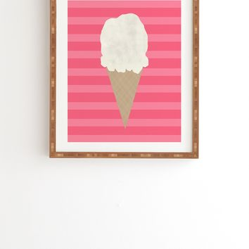 Allyson Johnson Vanilla Ice Cream Framed Wall Art