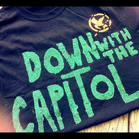 Down with the Capitol Hunger Games inspired by arielsacutie