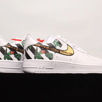 [Free Shipping ]Off-White x Nike Air Force 1 OW Basketball Sneaker