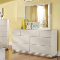 Astonishing Wooden Dresser, White