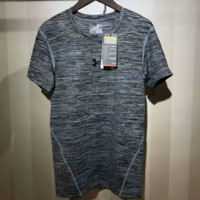 Under Armour Fashion Casual Sport Show Thin Contracted Top  G-YF-MLBKS