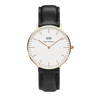 Daniel Wellington Watch - Classic Sheffield Lady - Rose Gold