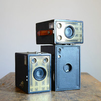Vintage 1920s Kodak No. 2C Brownie Box Camera | Red Line Vintage