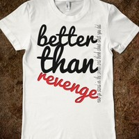 BETTER THAN REVENGE CURSIVE LYRICS