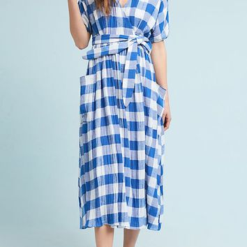 Mara Hoffman Ingrid Gingham Dress
