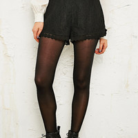 Pins & Needles Lace Pin-Up Shorts in Black - Urban Outfitters