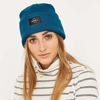 Obey Vernon Navy Beanie - Urban Outfitters