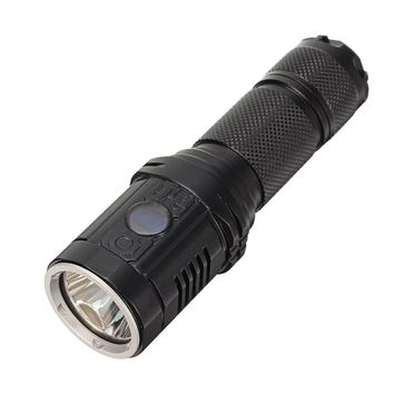 Astrolux MH10 XPL HI 1000LM 4 modes USB Rechargeable LED Flashlight Outdoor 18650 2 x CR123 led torch+O-ring+Holster+cable