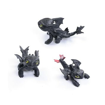 How to Train Your Dragon Toothless Night Fury Action Figures Toys For Children's Birthday Gifts Toy ornaments