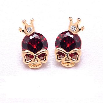 FREE Skull Earrings