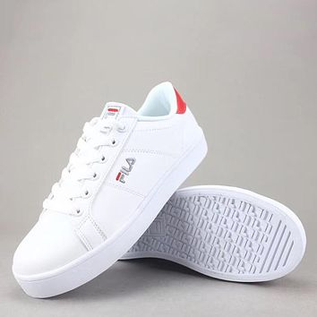 Trendsetter Fila Court Deluxe  Women Men Fashion Casual Low-Top Old Skool  Shoes