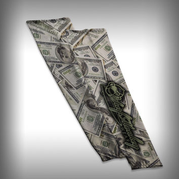 Money Compression Sleeve Arm Sleeve