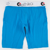 Ethika The Staple Boxers Blue  In Sizes