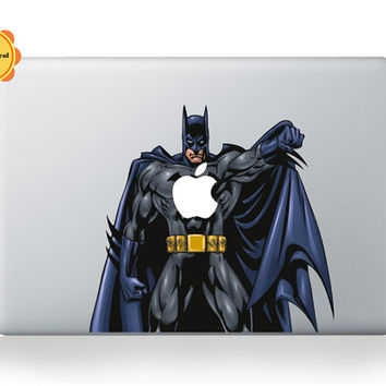 Mac Color Decal Batman sticker for macbook pro mac by SunnyDecal