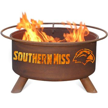 Southern Mississippi Steel Fire Pit by Patina Products