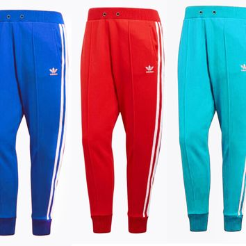 """Adidas"" Fashion Women MenLoose Exercise Sport Pants Trousers Boy Girl Sweatpants Colorful B"