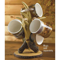 Wild Wings Antler Tree Mug Stand