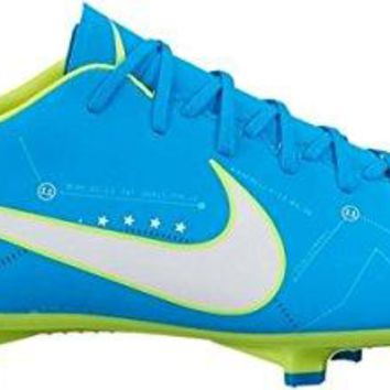 Nike Men's Mercurial Victory VI NJR FG Soccer Cleat (Blue Orbit)