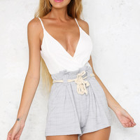 All My Life Playsuit Grey