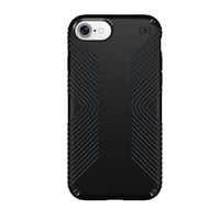 Speck Products Presidio Grip Cell Phone Case for iPhone 7/6S/6 - Black, 79987-1050