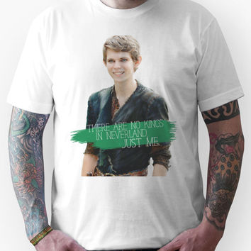 No Kings in Neverland - Peter Pan Unisex T-Shirt