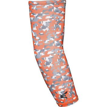 ESBYF3 Easton Compression Arm Sleeve - Orange Camo