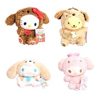 Cartoon My Melody Hello Kitty Cinnamoroll Pudding Dog Plush Toy Cute Soft Stuffed Animals Dolls For Girls Kids Children Gifts