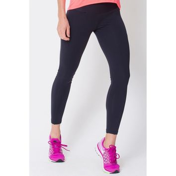 Black Riding Seam Legging