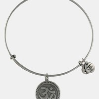 Women's Alex and Ani 'Om' Wire Bangle