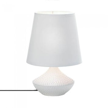 White Table Lamp 4pc