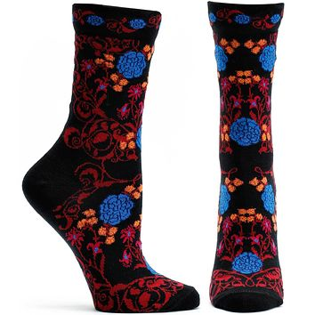 Rajasthani Rose Sock