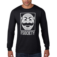 Mr Robot F Society Long Sleeve Tee