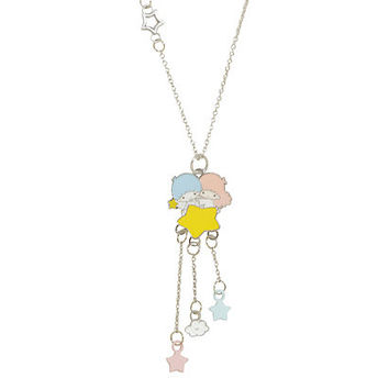 Sanrio Little Twin Stars Dangle Pendant Necklace