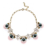 Sole Society Deco Statement Necklace