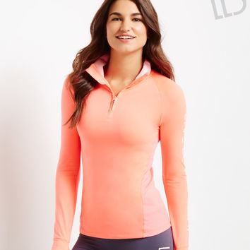 LLD Long Sleeve Inset 1/4-Zip Track Top