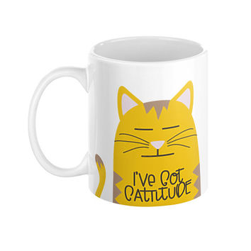 Cattitude Cat Lady Mug