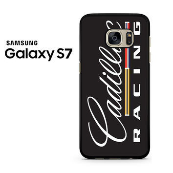 Cadillac Racing Vertical Logo Samsung Galaxy S7 Case
