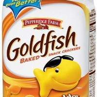 Pepperidge Farm Goldfish, Cheddar, 6.6-ounce bag