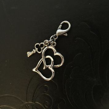 The Key to My Heart, Bridle - Saddle - Breech Charm