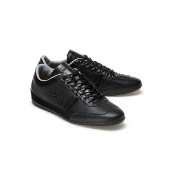 Premium leather Misano sneakers with metal eyelets