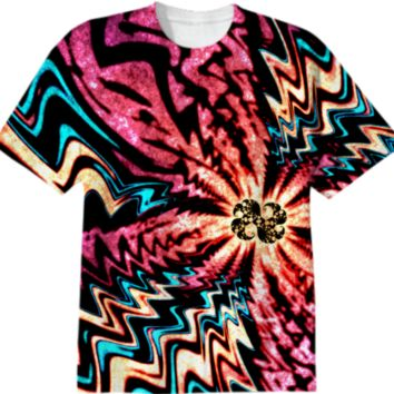 Neon Fractal created by Idle Amusement | Print All Over Me