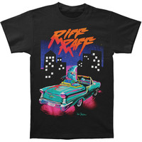 Riff Raff Men's  3 Moons T-shirt Black