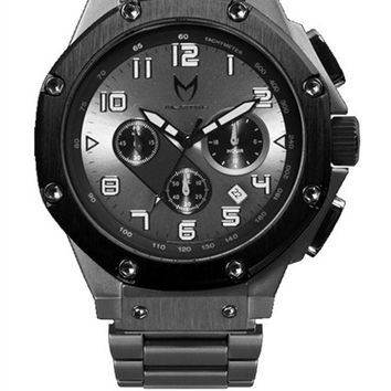 Meister Ambassador AM113SS Titanium Grey/Black Watch